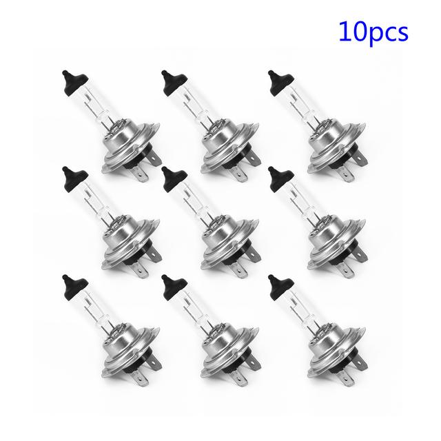 10 Pcs 12V 55W 4300K Car H7 Xenon Headlight Halogen White Light Lamps Bulbs Lot