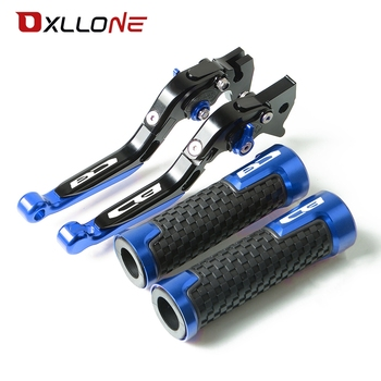 For Honda CB125R CB150R CB190R CB250R CB300R CB400 CB500X CB500R CB650F CB1100 Motorcycle Grips Handle Brake Clutch Levers