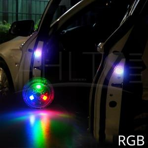 Image 3 - 1X Red Magnetic Wireless LED Car Door Opening Warning Lights Waterproof Strobe Flashing Anti Rear end Collision Led Safety Lamps