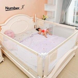 Image 1 - baby playpen bed safety rails for babies children fences fence baby safety gate crib barrier for bed kids  for newborns  infants