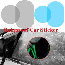 2Pcs Car Rearview Mirror Waterproof Anti Fog Rain Proof Film Side Window Glass Film Anti rain Car Rearview Mirror Cover Films