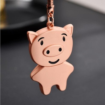 New Lovely Rose gold Metal Pig usb 2.0 memory flash stick pen drive