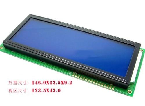 Большой размер 16PIN 2004 ЖК-экран SPLC780C контроллер совместимый с EQV 5V Синяя подсветка