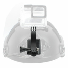 BGNing 알루미늄 NVG 헬멧 마운트 브래킷베이스, Gopro YI 용 연장 암 나사 어댑터 포함 OSMO Action Camera 용 Sjcam EKEN