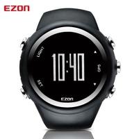 EZON-Reloj de pulsera deportivo Digital para hombre, cronómetro con GPS, control de velocidad, distancia, calorías, resistente al agua hasta 50M, T031