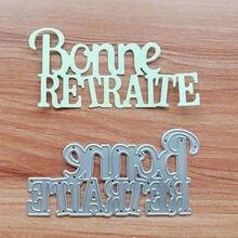 Пресс формы bonne vita с французскими надписями металлические