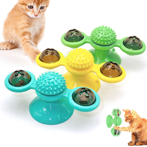 Windmill Cat toy Turntable Tea