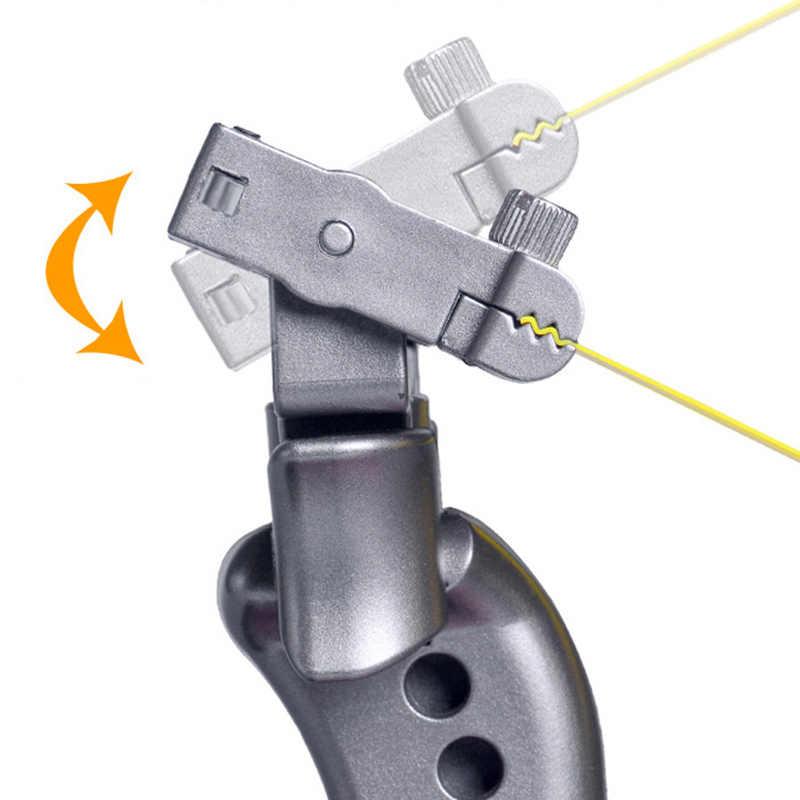 Estilingue de couro liso do laser da resina da catapulta de giro de 360 graus do estilingue do tiro da elevada precisão para a caça exterior