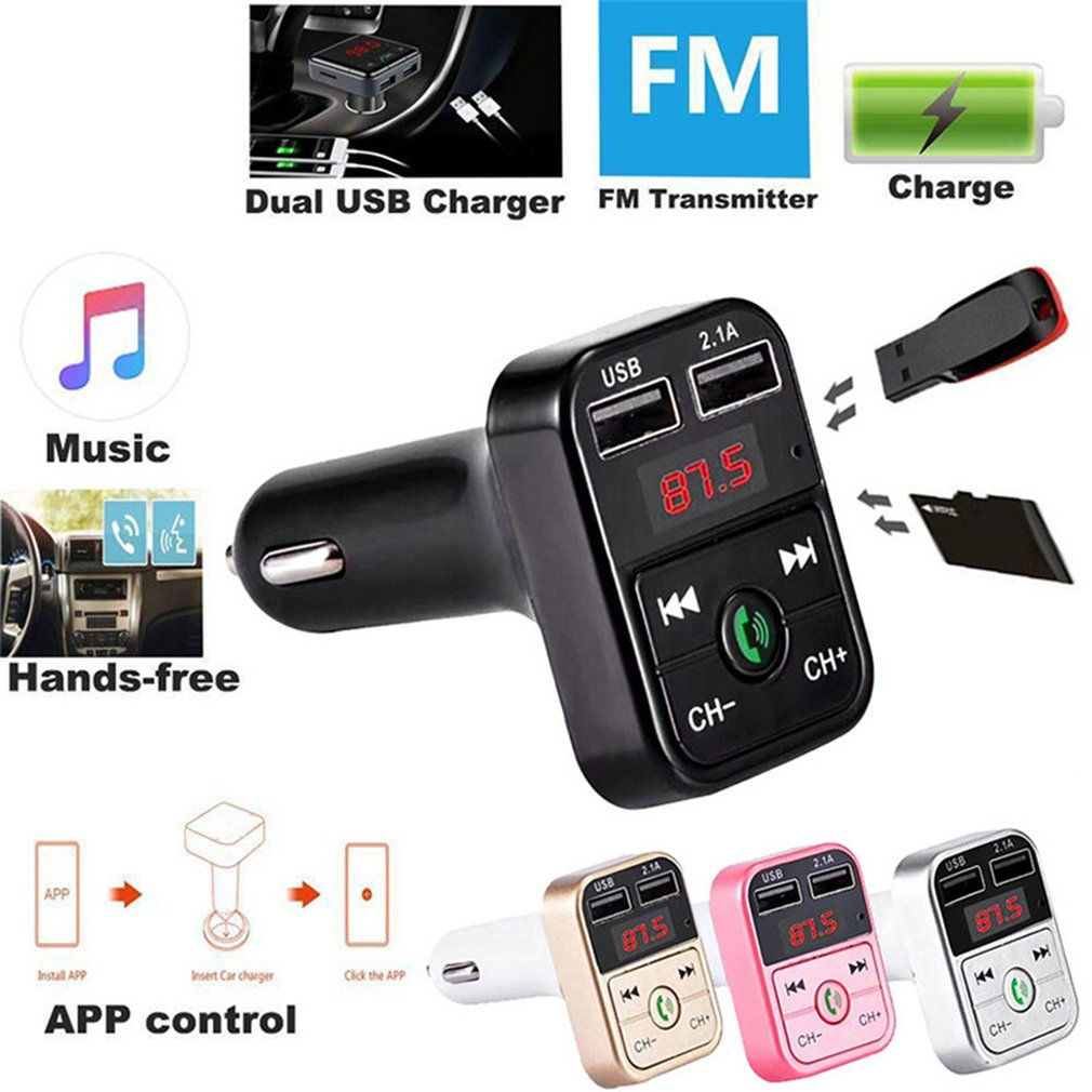Portable Multifunction Car Mp3 Player Handsfree Fm Transmitter Disk Car Player Small Car Mp3 Music Player