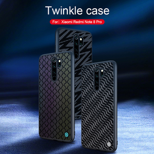 Image 1 - Case For Xiaomi Redmi Note 8 pro Cover NILLKIN Twinkle Case polyester Reflective Back Cover For Xiaomi Redmi Note 8