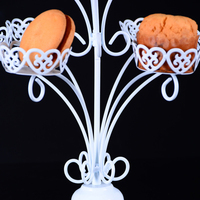 Branch Type Snack Rack Iron Mold Cupcake Stand 1 set 11 Cups Birthday Party Hotel Cake Decoration Wedding Towers Tree Cake Stand