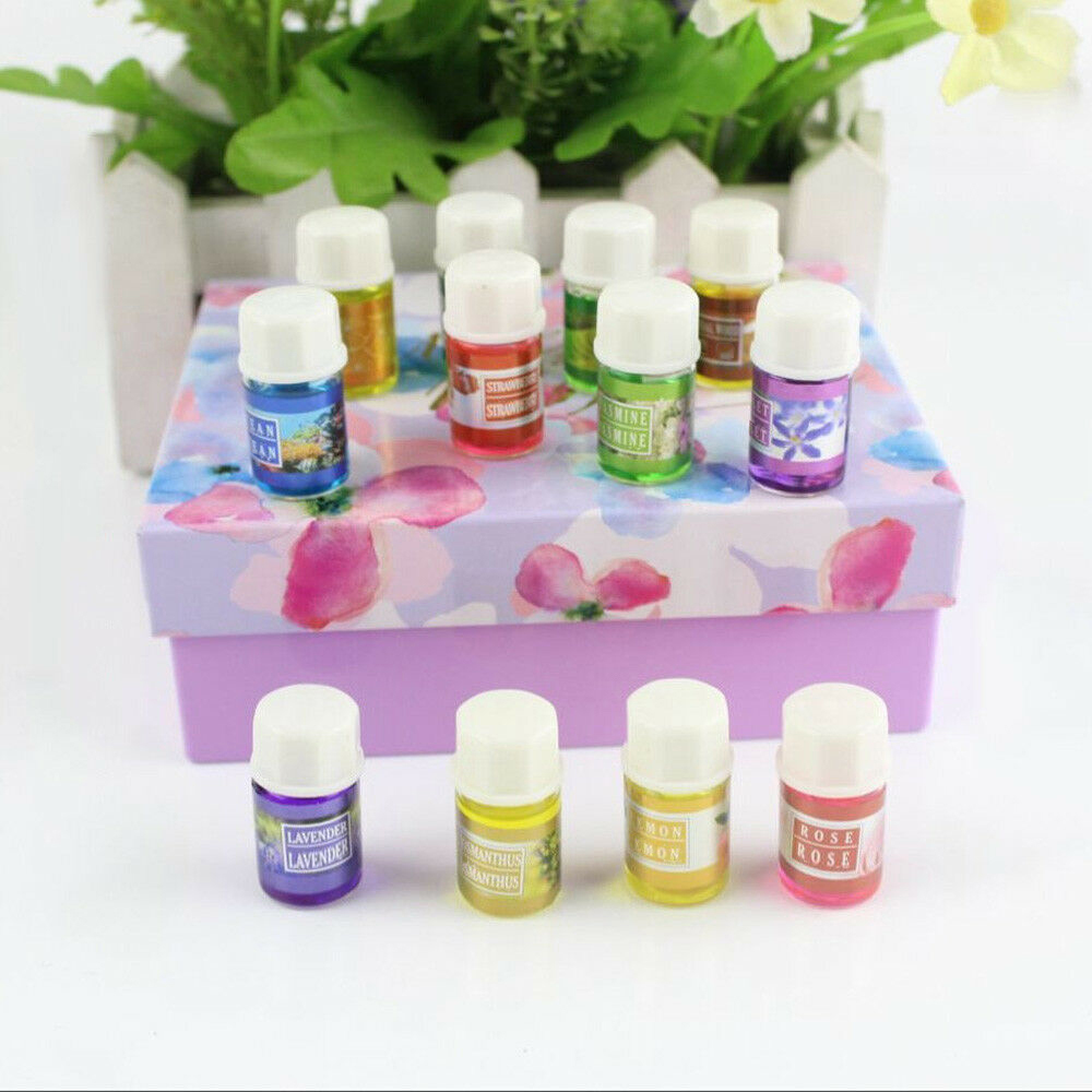 12 Scent Aromatherapy Essential Oils Kit For Humidifier Water-soluble Aroma Set