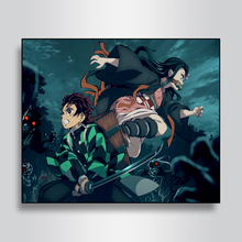 Wall Art Canvas Painting Anime Home Decor Wall Pictures Modern Painting Home Living Room Anime Decor