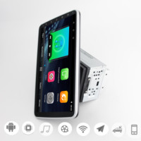 Rotatable screen 2din Android9.1 car stereo radio 10' universal car Multimedia Player for toyota volkswagen nissan kia