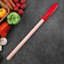 Barra de apontador de faca cerâmica haste usada para o chef de aço faca de cozinha assistente musat apontador de faca apontador