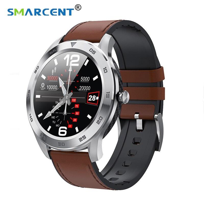 Smarcent DT98 Smartwatch fitness tracker 1.3 pouces IP68 étanche plein écran tactile Sport Fitness Bracelet Bracelet montre intelligente