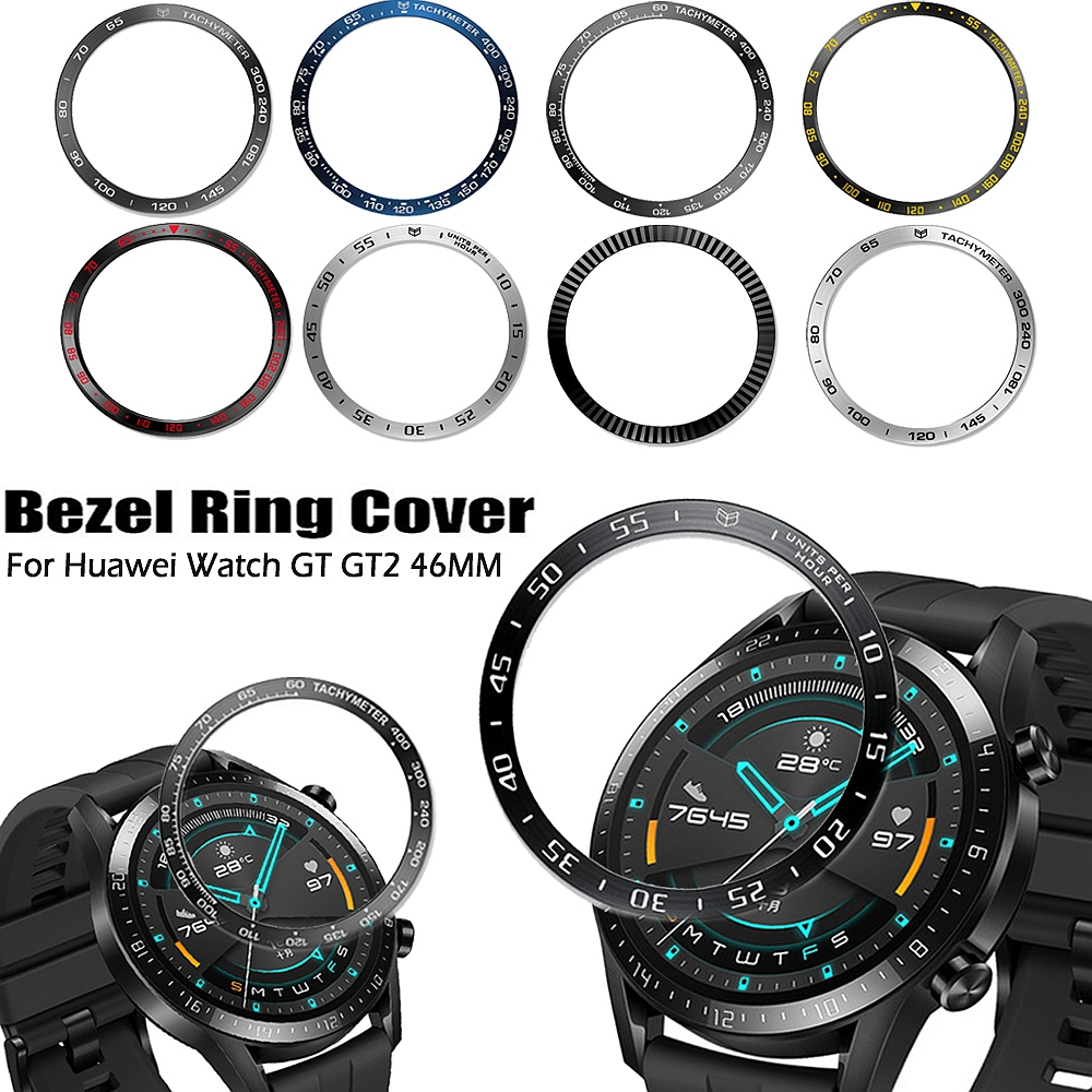 Ringke Bezel Styling Frame For Huawei Watch GT2 46mm /Samsung Galaxy Watch 46mm/Gear S3 Frontier Case Cover Protector Ring