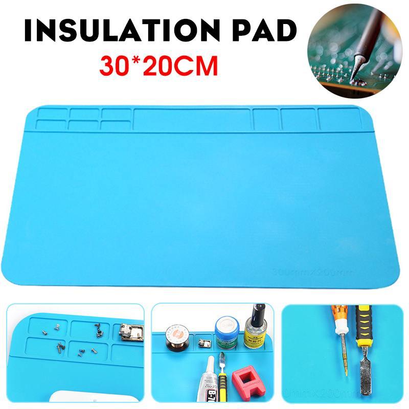 Heat Insulation Silicone Pad Mat Desk Maintenance Platform For Repair Station
