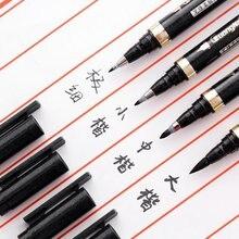 3/4 шт многоразовые черные ручки для письма