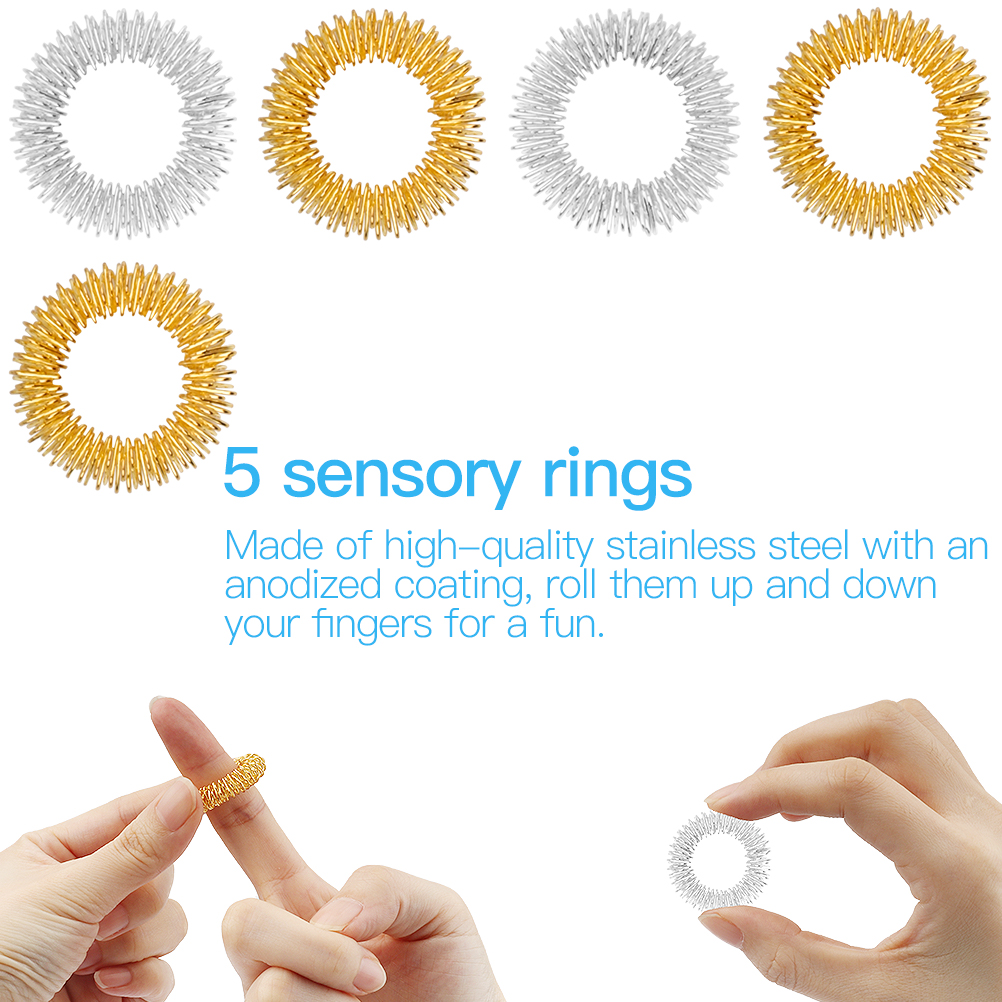 Fidget-Toys Strings Anti-Stress-Toy Mesh Marble Relief-Gift Sensory Children Adults 24pcs img4