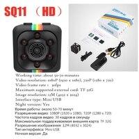 Дропшиппинг SQ11 мини камера S1000 датчик ночного видения Видеокамера движения DVR микро камера Спорт DV видео маленькая камера SQ 11 2