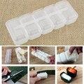 5 stücke Kunststoff Sushi Reis Ball Maker Mould Onigiri Mold Set Küche Gadgets Zeug Transparent Bento Zubehör