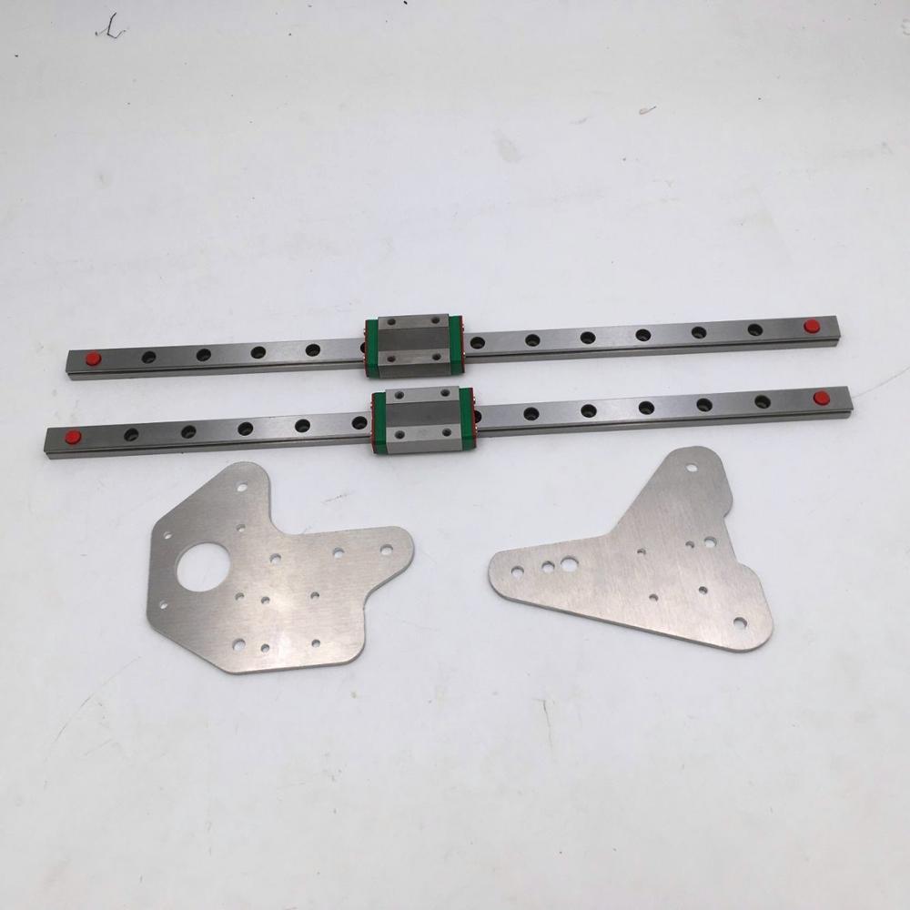 110/220 V силиконовый нагреватель 310x310 мм для Reprap Creality CR 10 3D картридж для принтера с винтовыми отверстиями - 2