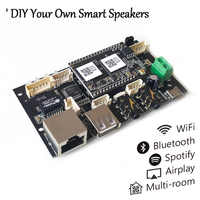 Up2Stream Pro WiFi and Bluetooth 5.0 Audio Receiver Board Module Wireless HiFi Multi-room DLNA Airplay Spotify Free APP
