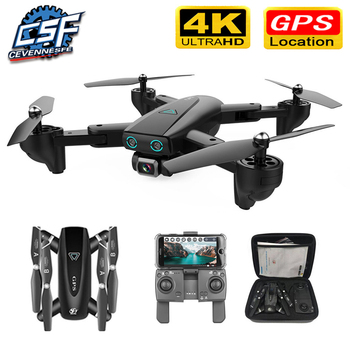 S167 GPS Drone With Camera 5G RC Quadcopter Drones HD 4K WIFI FPV Foldable Off-Point Flying Photos Video Dron Helicopter Toy wifi rc quadcopters drones with hd camera flying dron helicopter remote control hexacopter toys copters jjrc h12w