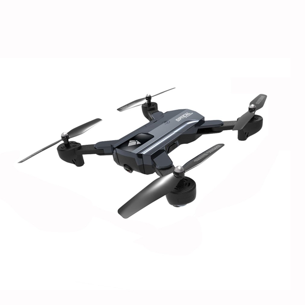 F196 RC Drone with 2.0MP HD Camera Optical Flow Localization Foldable Quadcopter Wi-Fi 1100mAh Battery Headless Mode Aircraft z