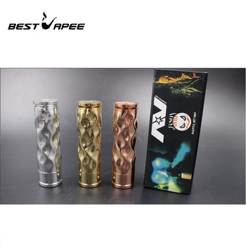 AV Mech Mod kit Brass Vape Pen 18650 Battery 510 thread connection RDA Mech Mod Brass Material vape pen Mod Kits Mech mod Kits