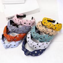 New Design Hairband Headband For Women Fashion Turban Hair Band Hoop Solid Accessories