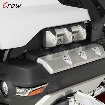 Silnik motocyklowy obudowa ochronna osłona przed zderzeniem dla Honda Goldwing GL1800 2018 2019 F6B 2018 2019 2020 nowy tanie i dobre opinie Love·Thanks 1inch FOR HONDA aluminum Obejmuje listew ozdobnych 0 1kg