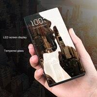 20000mAh Qi Wireless Charger Power Bank Fast Wireless Cellphones & Telecommunications