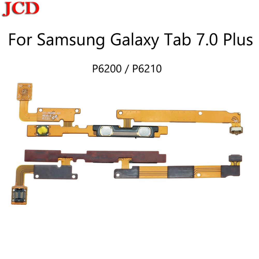JCD New ON/OFF Power Volume Button Flex Cable For Samsung Galaxy Tab 7.0 Plus P6200 GT-P6210 Power Volume Control Key Side