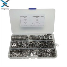 720PCS Stainless Steel Flat Washers Hardware Set 7 Sizes M3 M4 M5 M6 M8 M10 M12
