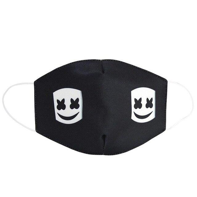 2020 Maska Dustproof Mouth Face Mask Adult Kids Cartoon Cover Women Men Muffle Face Mouth Masks gasket 4