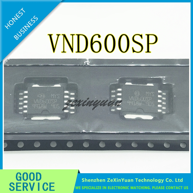 10PCS/LOT VND600SP VND600S VND600 HSOP10 CAR COMPUTER BOARD COMMONLY USED FRAGILE CHIP NEW