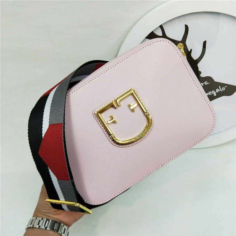 2019 nowości oryginalny FURLA torebki damskie, wysokiej jakości różowy kolor toreb Furla rozmiar 20cm x 14cm x 7cm