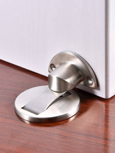 Hardware Stops Door-Stopper Furniture Magnet-Door Hidden Stainless-Steel Toilet Upgrade