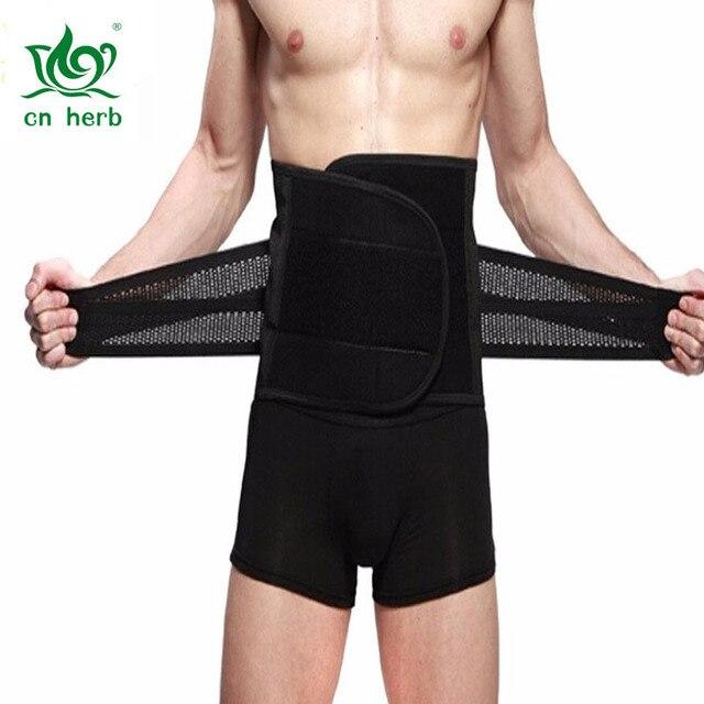 Cn Herb New Style Adjustable Breathable Trimmer Belt,tummy Fat Burning Slimming Belt,body Shaper Slimming Tummy Waist Trainer