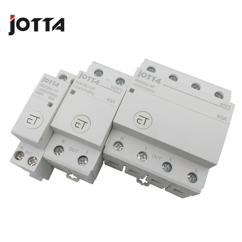 Image 4 - Jotta WiFi Circuit Breaker Remote Control by eWeLink Voice Control With Amazon Alexa and Google Home  RDCBC 1P 2P 4PCircuit Breakers   -
