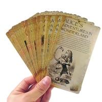 5 paczek/dużo śliczne nowości wizytówki Alice pocztówki obrazy kartki z życzeniami na prezenty dla dzieci kartka świąteczna pocztówki urodzinowe