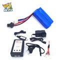 Оригинальный аккумулятор WPL 7 4 В 500 мАч для радиоуправляемого автомобиля  WPL MN45  батарея Imax B3 7 4 В  аксессуары для USB ChargerParts