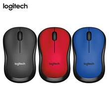 Logitech M220 3 Buttons USB Wireless Gaming Mouse for LOL 2.4GHz Mute Ergonomic Home Office Laptop PC Mice for Mac/Windows Newst(China)