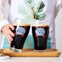 Креативные крутые 1664 пивные стаканчики стеклянные ремесла Heineken бокал для вина GUINNESS Stout чашка настраиваемый kao yin шаблон
