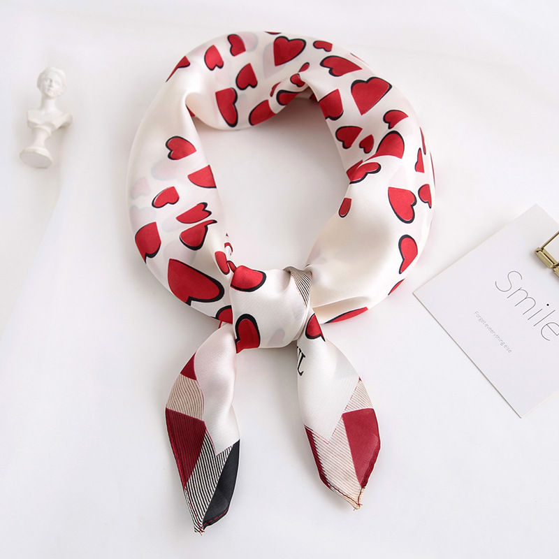 Spring And Autumn 2020 Lady Square Scarf Fashion New Tourism Sunscreen Shawl Women Silk Scarves Luxury Print Muslim Headcloth