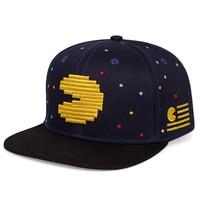 De moda hip-hop personalidad gorra de béisbol de dibujos animados bordado salvaje sombrero sombreros de estilo hip hop ajustable gorras para deportes al aire libre del snapback sombreros