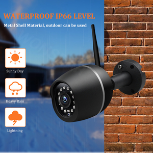 Image 5 - Wonsdar 1080P WIFI IP מצלמה חיצוני HD מתכת אלחוטי Wired Bullet אבטחת מצלמה מיני עמיד ראיית לילה P2P