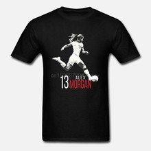 Alex Morgan ventilateur entraînement t-shirt USWNT femmes football fanatique(China)